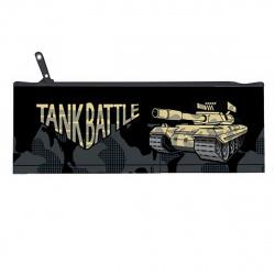 Пенал косметичка ткань 1 отделение 20*7 Tank Battle КОКОС К-2/210478