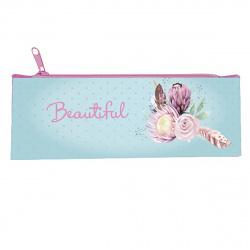 Пенал косметичка ткань 1 отделение 20*7 Spring Flowers КОКОС К-2/210480
