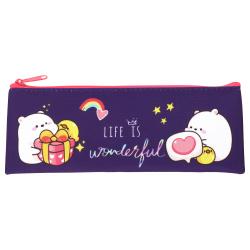 Пенал косметичка ткань 1 отделение 19*7 Dino принт Оникс ПМП 07-20 63098