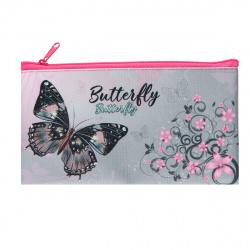 Пенал косметичка ткань 1 отделение 19*10 Сияние бабочки Оникс ПМП 01-20 58155