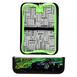 Пенал картон ламинированный 1 отделение 19*6*3 Monster car Оникс ПКК 01-5 56666