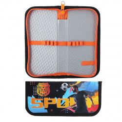 Пенал ламинированный картон, 1 отделение, 90*190*30мм Футбол Пчелка ПО-03