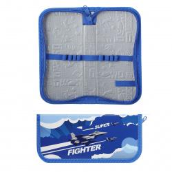 Пенал ламинированный картон, 1 отделение, 90*190*30мм Air Fighter SchoolФОРМАТ ПКС-АФТ