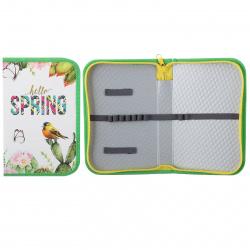Пенал картон SoftТouch 1 отделение 20*13*3 Весна Пчелка ПО-401