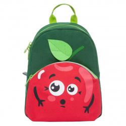 Рюкзак детский ткань 1 отделение 24*32*10 Grizzly Яблоко RK-999-1