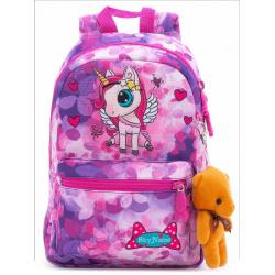 Рюкзак детский, полиэстер, 1 отделение, спинка мягкая EVA, 200*300*100мм SkyName 1102