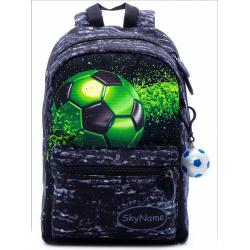Рюкзак детский, полиэстер, 1 отделение, спинка мягкая EVA, 200*300*100мм SkyName 1105