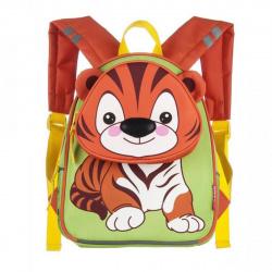 Рюкзак детский полиэстер 1 отделение 24*28*12 Тигр Grizzly RS-073-1
