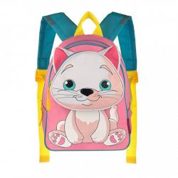 Рюкзак детский полиэстер 1 отделение 24*28*12  Котенок Grizzly RS-073-1