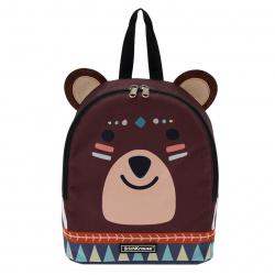 Рюкзак детский полиэстер 1 отделение 22*25*11 EasyLine 5L Mini Animals Mimi Bear Erich Krause 51649