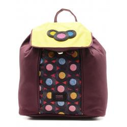 Рюкзак детский ткань 1 отделение 22*23*13 Сладости Proff HS15-BPM-02 бордовый
