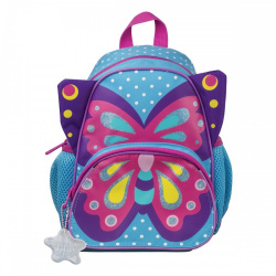 Рюкзак детский ткань 1 отделение 20*24*8 Прекрасная бабочка Tiger SKCS18-A04