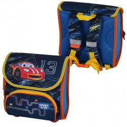 Рюкзак детский ткань 1 отделение 22*22*12 Красочные гонки Tiger SKCM18-A02