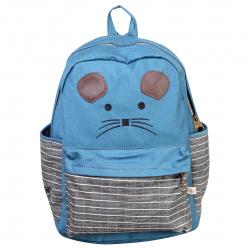 Рюкзак ткань 1 отделение 30*40*12 Мышка КОКОС 180845/1 голубой
