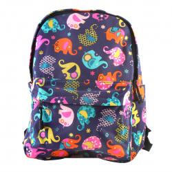 Рюкзак ткань 1 отделение 30*40*12 Цветной слон КОКОС 180900/1