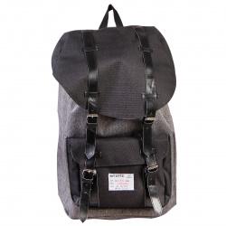 Рюкзак ткань 1 отделение 28*41*14 deVENTE 7033717 серый меланж с черным