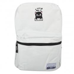 Рюкзак полиэстер 1 отделение 28*40*10 Cat deVENTE 7032046 серый