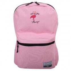 Рюкзак полиэстер 1 отделение 28*40*10 Flamingo deVENTE 7032048 розовый