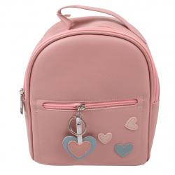 Рюкзак детский кожзам 1 отделение 19*22*9 Love deVENTE 7032001 розовый