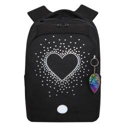 Рюкзак нейлон эргономичная спинка 2 отделения 26*38*12 Grizzly RG-966-1 фиолетовый