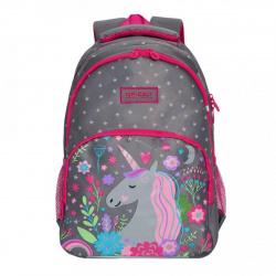 Рюкзак нейлон эргономичная спинка 2 отделения 26*38*16 Grizzly RG-966-1 серый