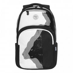 Рюкзак полиэстер 2 отделения 28*42*16 Grizzly RX-114-2 черно/белый