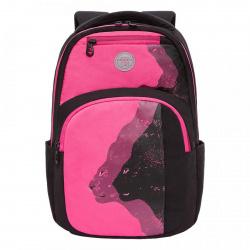 Рюкзак полиэстер, спинка мягкая EVA, 2 отделения, 260*420*140мм Grizzly RX-114-2