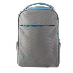 Рюкзак полиэстер, спинка мягкая EVA, 2 отделения, 280*380*120мм, серый Grizzly RD-145-1