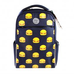 Рюкзак полиэстер, спинка мягкая EVA, 2 отделения, 280*380*120мм, темно-синий Grizzly RD-145-4