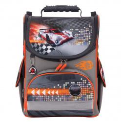 Ранец спинка ортопедическая EVA, 1 отделение, 250*320*130мм Кибер гонки Tiger 1728С