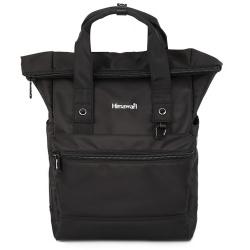 Рюкзак ткань, спинка эргономичная, 1 отделение, 280*470*150мм, черный HIMAWARI 210522