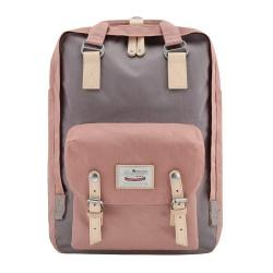 Рюкзак спинка мягкая, 1 отделение, 260*360*120мм, розовый HIMAWARI 205908