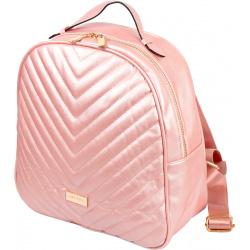Рюкзак кожзам 1 отделение 28*30*12 deVENTE 7032027 розовый