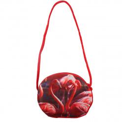 Сумка детская ткань 1 отделение 18*22*1 Фламинго КОКОС 185505 красный