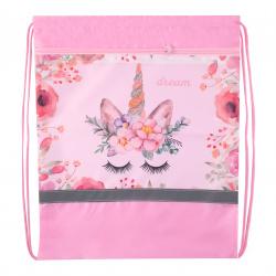 Мешок для обуви 1 отделение 40*48 с карманом Magic Dream Пчелка СДС-57