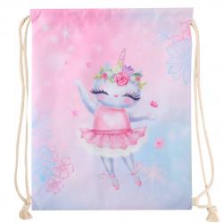 Мешок для обуви 1 отделение 34*43 Cat Ballerina КОКОС 210262