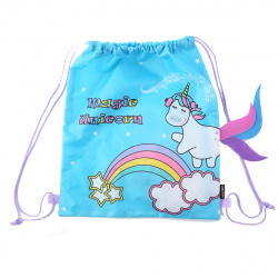 Мешок для обуви 1 отделение 35*40 Magic Unicorn deVENTE 7040062
