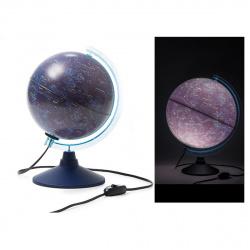 Глобус 210мм звездного неба Классик Евро Ке012100275 с подсвет