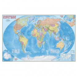 Карта настенная, Мира, политическая, 1:11 500 000, 150*230см Издательство Геодом