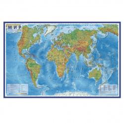 92bfc607e7a0 Быстрый просмотр Карта Мира полит 1:32млн 70*101см ламин КН040