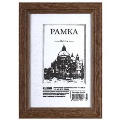 Рамка деревянная 10*15 багет 17мм KLERK 200050/РД_410 мокко