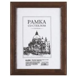 Рамка деревянная 13*18 багет 17мм KLERK 200052/РД_411 мокко