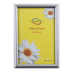 Рамка пластиковая 10*15 Fotex premium 4п 490-4/1264/15072 серебро металлик