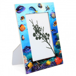Рамка стекло, формат фотографий 10*15см, рисунок Veld-co ZD6D
