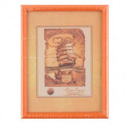 Рамка пластиковая 15*20 Fotex premium 4239/13596 оранжевый