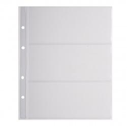 Файл для альбома на 3 купюры ДПС 3182/4-3.180 (207*250мм)