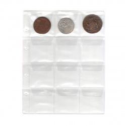 Файл для альбома на 12 монет deVENTE 9025900 (200*250мм)