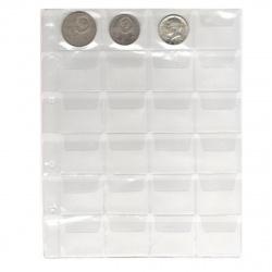Файл для альбома на 24 монеты deVENTE 9025902 (200*250мм)