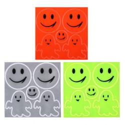 Наклейки светоотражающие набор 5шт Smile КОКОС 207089 ассорти 3 вида