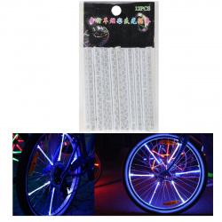 Накладки светоотражающие на спицы КОКОС 207096